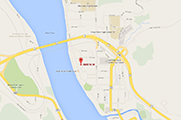 Map of Peace Country Hearing Care Ltd location in Peace River Alberta
